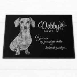"Personalized 18x12x¾"" Pet Headstones"